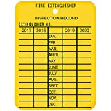 Plastic 4-Year Inspection Tag (240 Pack)