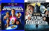 Young Frankenstein Steelbook + Spaceballs Blu Ray Mel Brooks Comedy Spoof Set
