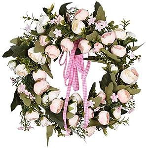 Artificial Flower Wreath Door Wreath Summer Wreath 113