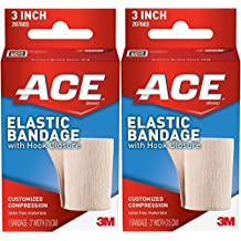 "ACE Elastic Bandage with Hook Closure, 3"" (Pack of 2)"