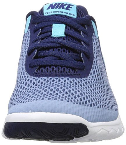 Laufschuhe Work binary NIKE Experience Run Blue Blue white Damen Blau Polarized 6 Flex Blue qPPR0XB