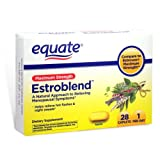 Equate - Estroblend, Maximum Strength, 28 Caplets (Compare to Estroven Maximum Strength)