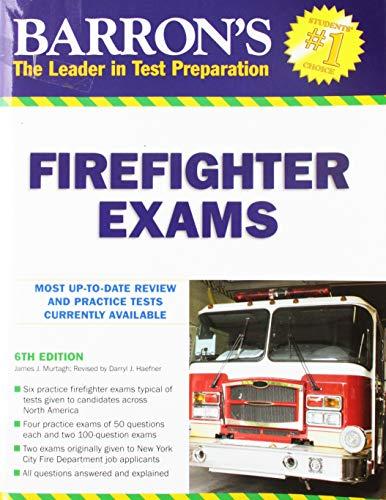 Barron's Firefighter Exams