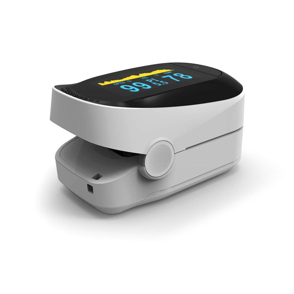 Amazon.com: Onpiece Oximeter Blood Saturometro Monitor SPO2 PR Oximetro De Pulso Portable (Black): Health & Personal Care