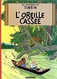 """""""L'oreille cassée"""" av Hergé"""