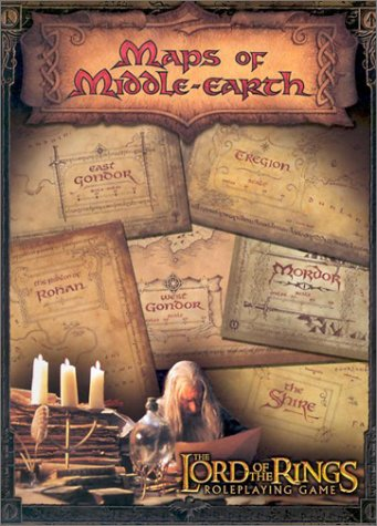(Maps of Middle Earth: The Lord of the Rings Map Set)