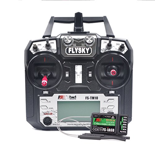 Flysky Transmitter with Receiver Remote Control Upgrade RC Helicopter/Boat/Drone/Heli Fixed Wing Multi Glider FPV