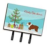 Caroline's Treasures - Correa para árbol de Navidad o Llavero, diseño de Bulldog inglés, Multicolor