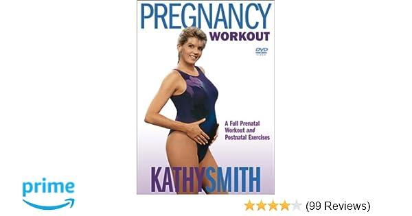 Amazon com: Kathy Smith - Pregnancy Workout: Kathy Smith