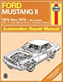 Ford Mustang II, 1974-1978, John Haynes and M. S. Daniels, 0856966290
