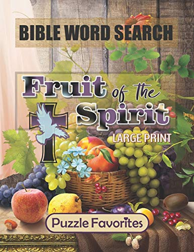 Bible Word Search - Large Print: Featuring Bible