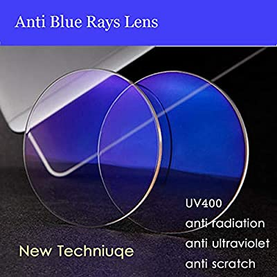 Reading Glasses Blue Light Blocking Polished Metal Readers Computer Reading Glasses UV Protection for Men and Women (1.0 Strength)
