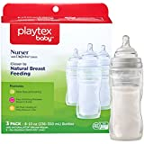 Playtex BPA-Free Nurser Baby Bottles with Disposable Drop-Ins Bottle Liners, 8 Ounce, Pack of 3 Baby Bottles