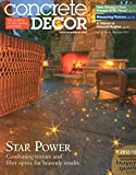 Concrete Decor Volume 12 Number 4 May June 2012