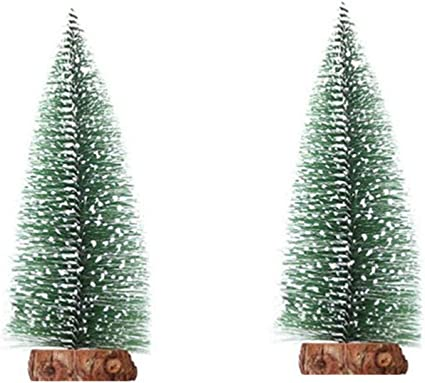 Mini Christmas Tree Cedar Ornaments Desktop Xmas Trees Party Decoration