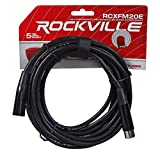 """(2) Rockville 15"""" Powered Speakers+Stands+Subwoofer For Backyard Movie Theater"""