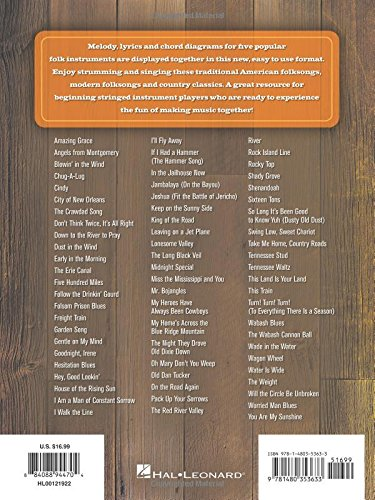 Amazon Americana Classics Strum Together 9781480353633 Hal