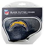 Team Golf NFL San Diego Chargers Golf Club Blade Putter Headcover, Fits Most Blade Putters, Scotty Cameron, Taylormade, Odyssey, Titleist, Ping, Callaway