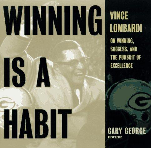 Winning Habit Lombardi Success Excellence product image