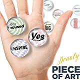 Glass Inspirational Magnets for Fridge - Funny