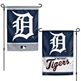 WinCraft Detroit Tigers Flag 12x18 Garden Style 2 Sided