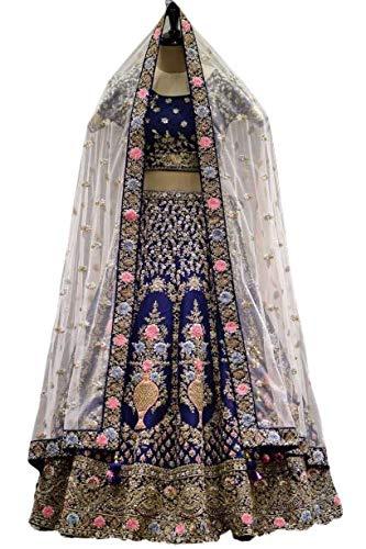 LenghaCholi Indian Party Wear Lehenga Lengha Choli Pakistani Wedding Sari