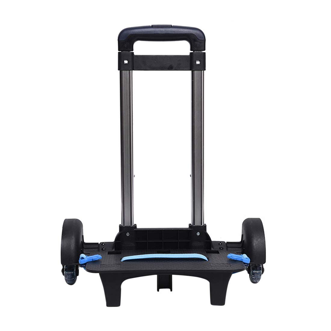 Durable Folding Trolley Luggage Backpack Cart 6 wheels 50kg+ Capacity Zhhlinyuan by Zhhlinyuan