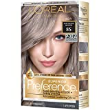 L'oreal Paris Hair Color Superior Preference Fade-defying Plus Shine Permanent Coloring, 8s Soft Silver Blonde