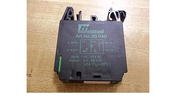 10-53V MURR ELEKTRONIK 50040 OPTO-Coupler Module 1.2AMP