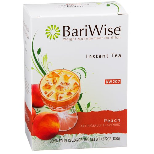 BariWise High Protein Instant Tea - Peach (7 Servings/Box)