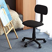 Homycasa Yanyan Mesh Mid-back Executive Adjustable Computer Task Desk Office Chairs (Black)