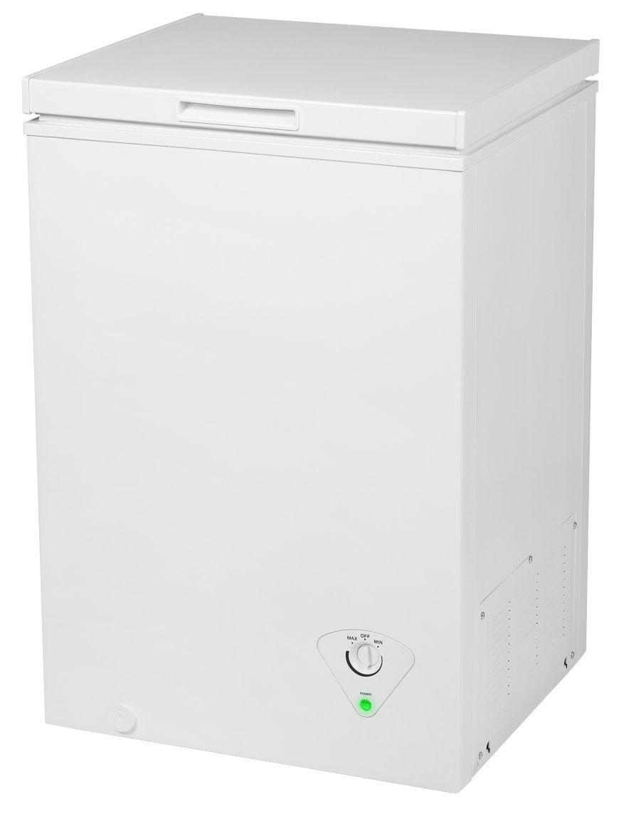 MEDION MD 37276 Gefriertruhe / 99 Liter Nutzinhalt/integrierter Metallkorb/platzsparend / EEK: A+ / weiß [Energieklasse A+]