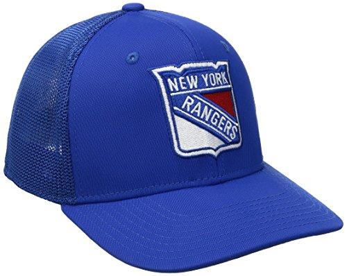 7e15dd8c915 NHL New York Rangers Men s SP17 Trucker Structured Flex Cap