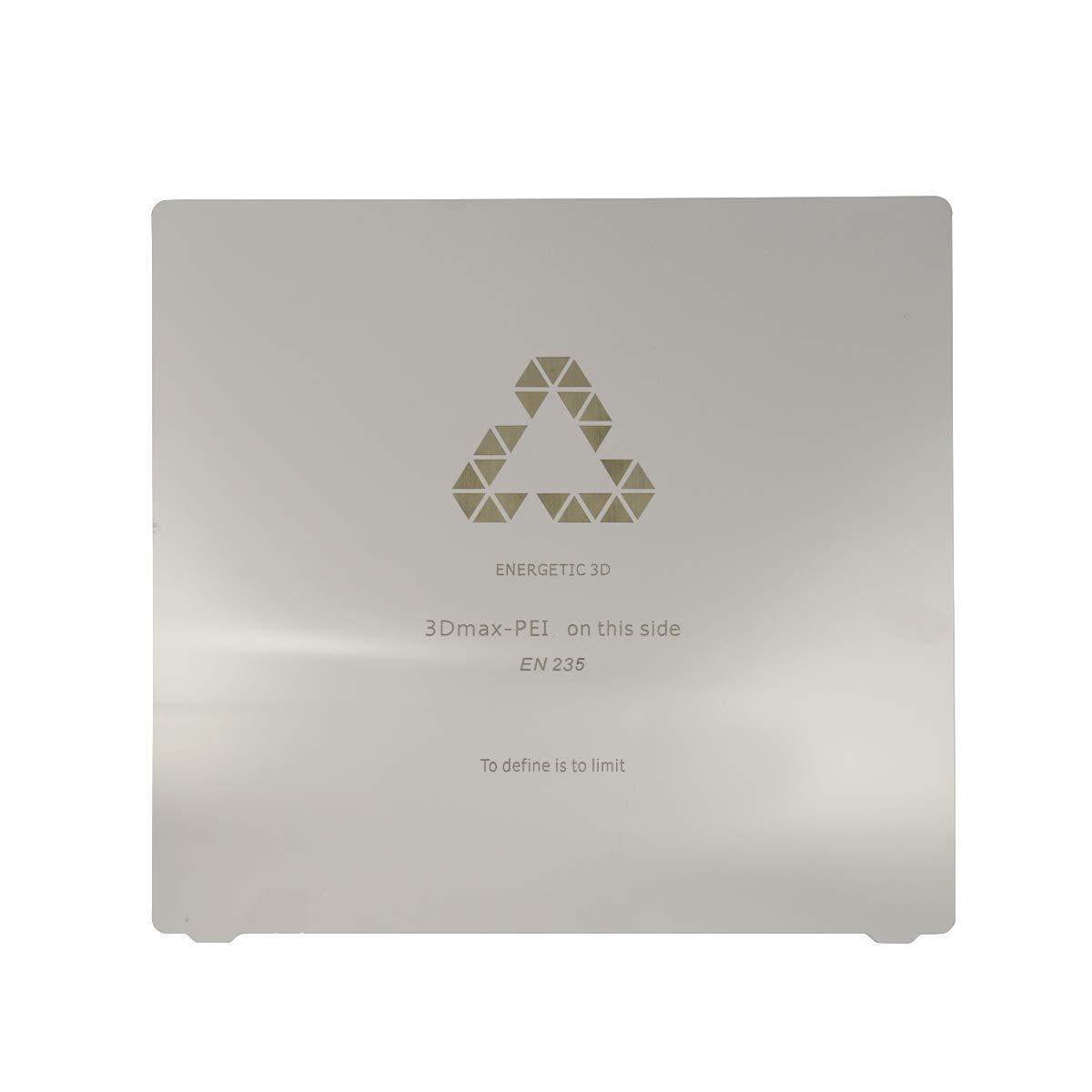 Wisamic - Placa magnética para impresora 3D (PEI, 220 x 220 mm ...