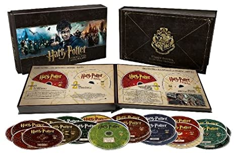 Pack Harry Potter: Colección Hogwarts [Blu-ray] + DVD: Amazon.es ...