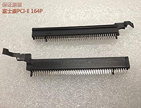 Cable Length: 100pcs, Color: Red Computer Cables 164Pin 164 pin Graphics Card PCI-E PCIE Slot Socket Connector for Desktop Computer