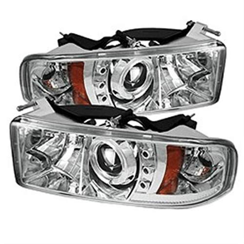 Spyder Auto 5010094 LED Halo Projector Headlights Chrome/Clear
