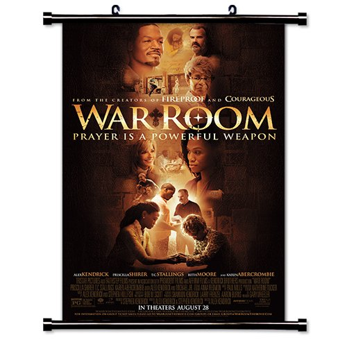 War Room Movie Fabric Wall Scroll Poster  Inches
