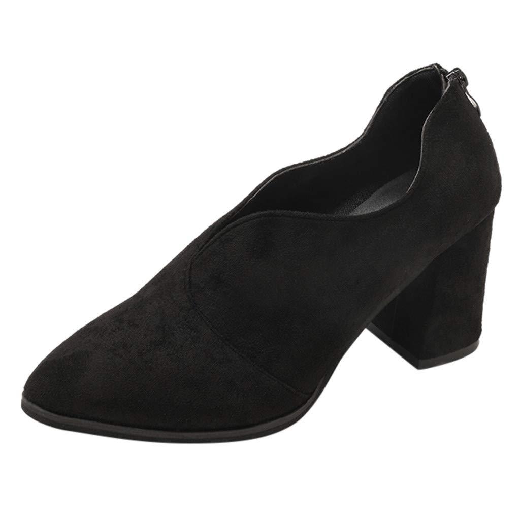 [NRUTUP-shoes] レディース ファッション 35 M EU ブラック B07N8893MS