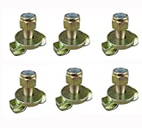 Isafe Heavy Duty L Track Stud Fitting for L Track and Airline Track-6 Packs