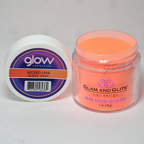 Glow Collection Individual Colors 1oz. Jars 411513 (Wicked Lava)