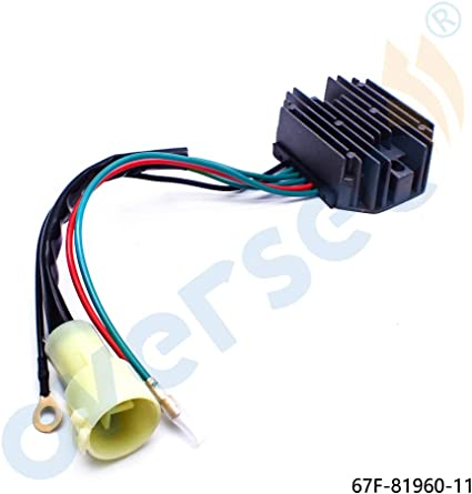 VOLTAGE REGULATOR RECTIFIER for 2003 Yamaha Outboard Motors F100TLRB F100TXRB