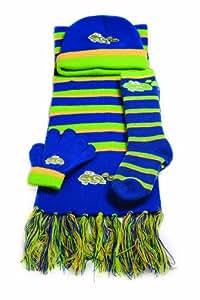 Yeominis rana gorro, bufanda, guantes y calcetines Set (4–7años)