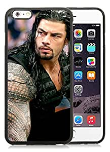 Wwe Superstars Collection Wwe 2k15 Roman Reigns 10 Black iPhone 6 Plus 5.5 inch TPU Cellphone Case Popular and Grace Style
