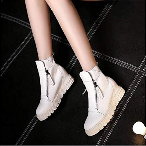de Blanco Platform ZHZNVX Negro Sneakers Silver Winter PU Plata Mujer Poliuretano Zapatos Comfort aqwOq5zAx
