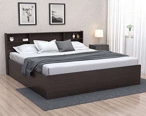 Forzza Jasper Queen Engineered Wood Bed  Wenge