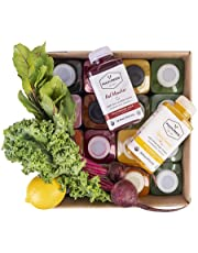 Pulp & Press - Complete 3 Day - Organic Cold Pressed Fruit and Vegetable Juice Cleanse - 15 Bottles - 473ml/16oz Per Bottle…