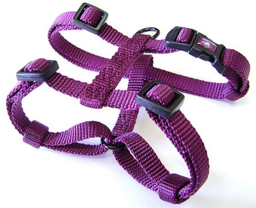 Image of Hamilton Adjustable Comfort Nylon Dog Harness, Wine, 1