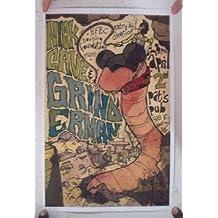 Nick Cave Grinderman April-2nd Pat's Pub Poster Concert Gig