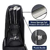 Partage Golf Travel Bag with Wheels,Golf Travel